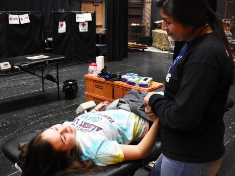 Albert Lea High School Hosts Blood Drive Event