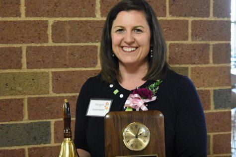Sorenson Named Teacher of the Year