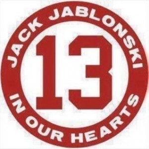 """From one hockey player  to another:""""You don't have to know someone to pray for them"""" #Jabs 13"""