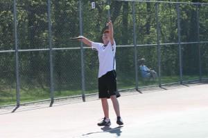 Racket Prodigy: 8th grade  student on tennis  varsity