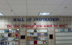 Wall of Inspiration:Be the change you want to see