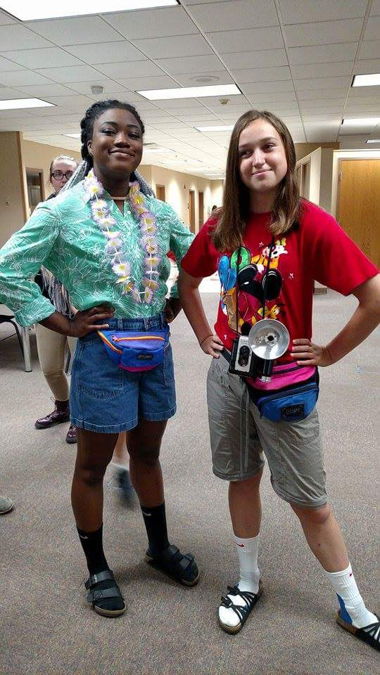 Homecoming Week Day No 2 Tacky Tourist Tuesday Ahlahasa