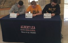 Seniors Commit to Rochester Community and Technical College
