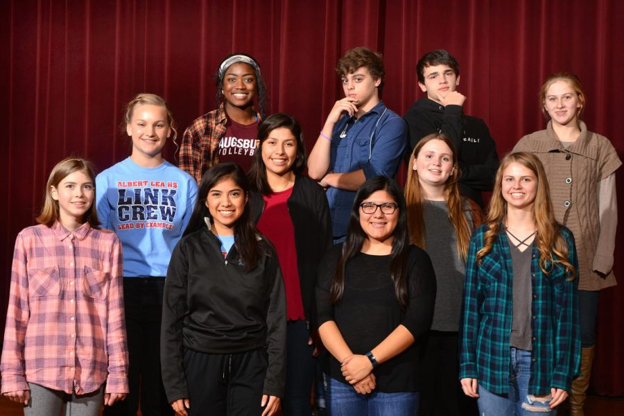 Members of the Speech team look forward to growing as a group and having a successful season this year.
