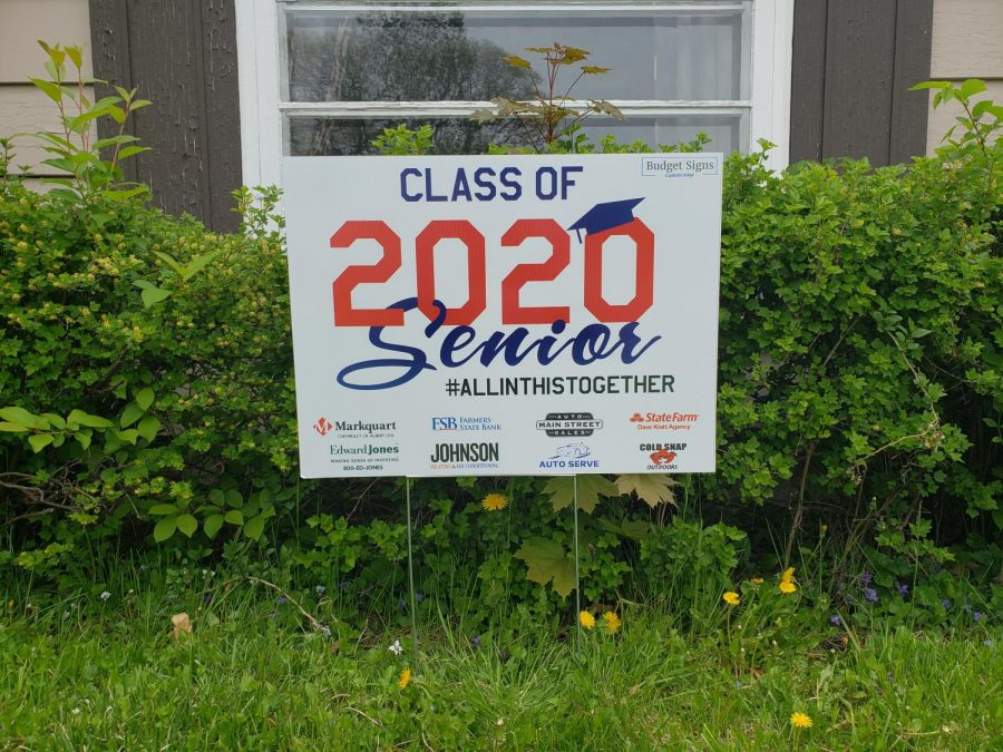 2020 Seniors Say Goodbye