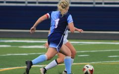 Senior Maddie Schneider is a captain on the girls' varsity soccer team with aspirations of playing college soccer. Before the season was halted, a college scout was planning on attending the Sept. 18 game against Owatonna to possibly recruit her.
