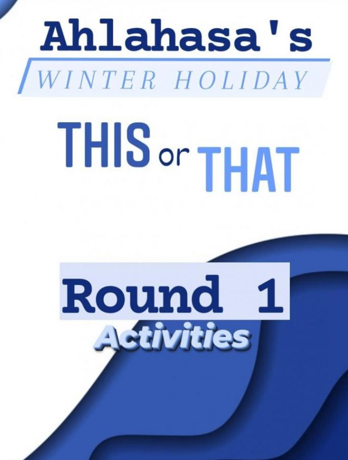 Favorite Winter Holiday Activities